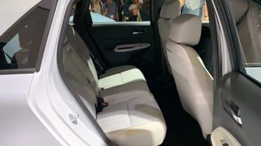New 2020 Honda Jazz  rear seats