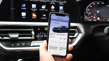 BMW M440i xDrive long term test - second report phone
