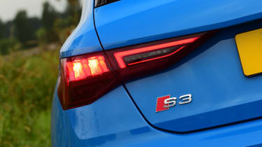 Audi S3 long termer - first report S3 badge