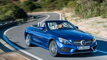 Mercedes C-Class Cabriolet - front panning