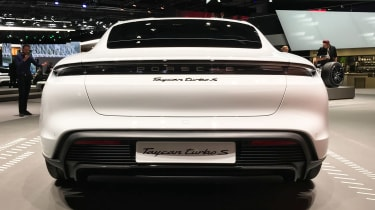 Porsche Taycan - Frankfurt full rear