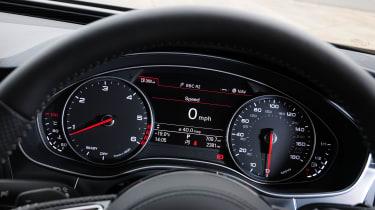 Audi A7 dials