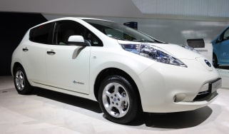 Used Nissan Leaf - front
