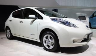 Used Nissan Leaf - front
