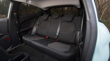 Ford Fiesta long term test - first report rear seats