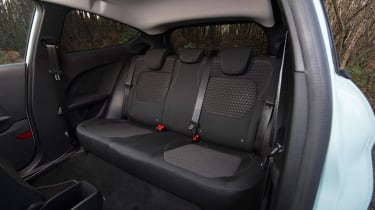 Ford Fiesta long term test - first report rear seats