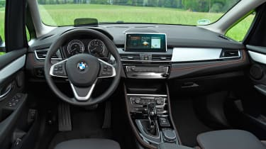 BMW 2 Series Active Tourer facelift - interior