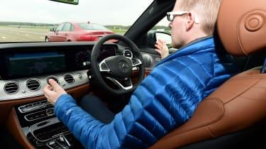 Mercedes E-Class 2016 - autonomous drive