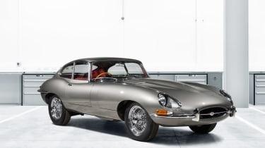 Jaguar Classic E-Type Reborn front