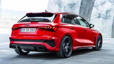 Audi RS 3 Sportback - rear tracking