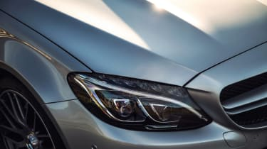 Mercedes C63 AMG saloon - headlight
