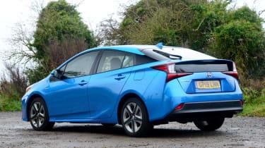 Toyota Prius - rear
