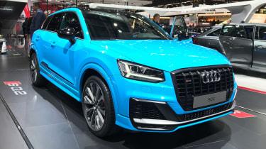 Audi SQ2 - Paris front