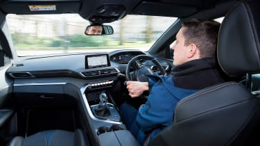 Peugeot 3008 long-term test - driving