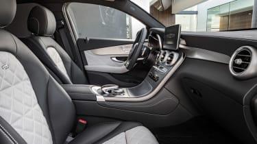 Mercedes GLC Coupe - interior