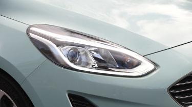 Ford Fiesta long term test - first report front light