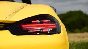 Porsche Boxster T - rearlight