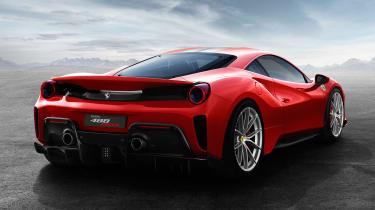 New Ferrari 488 Pista - rear