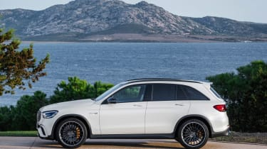Mercedes-AMG GLC 63 - side static