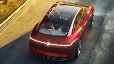 Volkswagen I.D Vizzion - rear