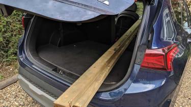 Hyundai Santa Fe long termer - second report wood