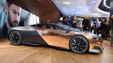 Peugeot Onyx supercar profile