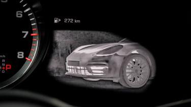 Porsche Cayenne Turbo - night vision