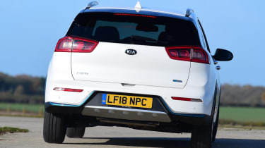 Kia Niro Plug-in Hybrid - rear cornering