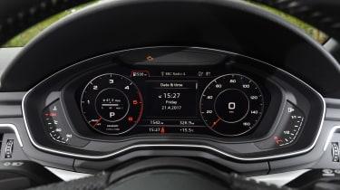 Audi A5 Cabriolet - dials