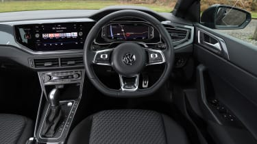 vw polo r-line interior