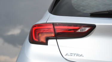 Vauxhall Astra diesel - tail light