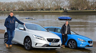 Volvo V40 long-term - first report header