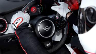 MINI JCW GP1 Concept - steering wheel