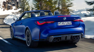 BMW M4 Competition Convertible - rear