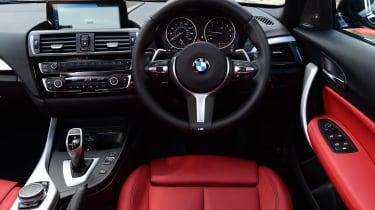 BMW M140i - dash