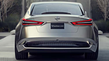 Nissan Vmotion 2.0 concept - rear
