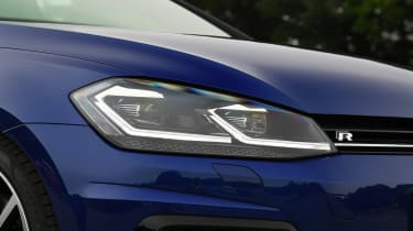 Volkswagen Golf R - front lights