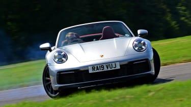Porsche 911 Cabriolet - drift