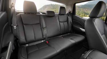 Renault Alaskan - rear seats