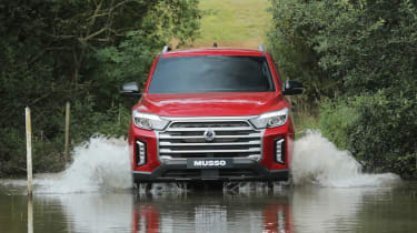SsangYong Musso - wading