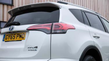 Toyota RAV4 Hybrid UK 2016 - rear light