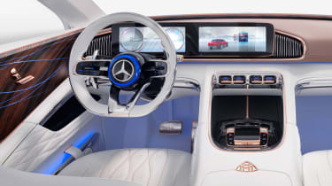 Vision Mercedes-Maybach SUV - dash