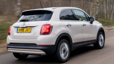 Fiat 500X long termer - rear tracking