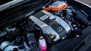 Lexus RC - engine