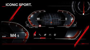 New BMW iDrive tech - sport