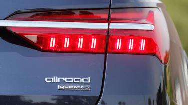 Audi A6 Allroad - rear badge