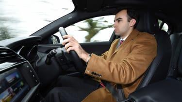Jaguar XE Long term test - driving inside