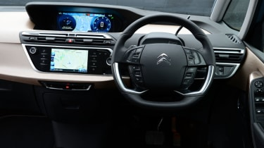 Citroen Grand C4 Picasso interior
