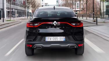 Renault Arkana - full rear action