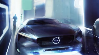 Volvo new electric saloon